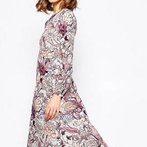 ASOS floral dress XXS